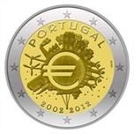 Foto de 2012 PORTUGAL 2 EUROS X Ani. EURO