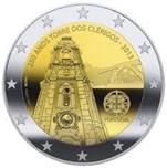 Foto de 2013 PORTUGAL 2 EUROS TORRE DOS CLERIGOS