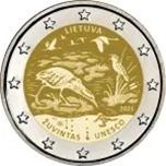Foto de 2021 LITUANIA 2 EUROS RESERVA ZUVINTAS