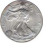 Foto de 2000 USA 1$ LIBERTAD ANDANDO PLATA