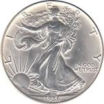 Foto de 1986 USA 1$ LIBERTAD ANDANDO P