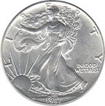Foto de 1987 USA 1$ LIBERTAD ANDANDO P