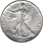 Foto de 1988 USA 1$ LIBERTAD ANDANDO PLATA
