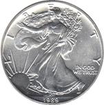 Foto de 1989 USA 1$ LIBERTAD ANDANDO PLATA