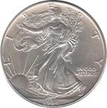 Foto de 1994 USA 1$ LIBERTAD ANDANDO PLATA