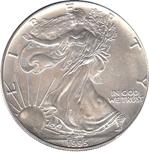 Foto de 1995 USA 1$ LIBERTAD ANDANDO PLATA