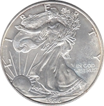 Foto de 1996 USA 1$ LIBERTAD ANDANDO PLATA