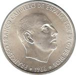 Foto de 1966*1970 ESPAÑA 100 PESETAS