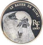 Foto de 1997 FRANCIA 1 1/2 Euros LE BAISER DE KLIMT