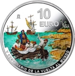 Foto de 2021 10 EUROS V Cent VUELTA AL MUNDO