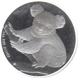 Foto de 2009 AUSTRALIA 1$ - 1 Oz KOALA