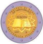 Foto de 2007 ITALIA 2 EUROS TRATADO ROMA