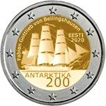 Foto de 2020 ESTONIA 2 EUROS 200 Aniv. ANTARTIDA