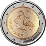 Foto de 2021 ESTONIA 2 EUROS PUEBLOS UGROFINESES
