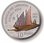 Foto de 2021 BATALLA DE LEPANTO 10 EUROS