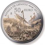 Foto de 2021 BATALLA DE LEPANTO 50 EUROS