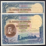 Foto de 1935  500 PESETAS HERNAN CORTES PAREJA. Ord.Cat.13