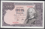 Foto de 1976/02/06 JUAN CARLOS I 5000 PESETAS SIN SERIE. Ord.Cat.101