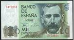 Foto de 1979/10/23 JUAN CARLOS I 1000 PESETAS SIN SERIE. Ord.Cat.109