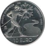Foto de 2002 ESPAÑA 10 EUROS OLIMPIADA INVIERNO