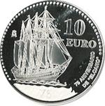 Foto de 2003 ESPAÑA 10 EUROS ELCANO