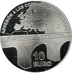 Foto de 2006 ESPAÑA 10 EUROS ADHESION EUROPEA