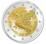 Foto de 2005 FINLANDIA 2 EUROS 50 Aniv. ADHESION ONU