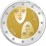 Foto de 2006 FINLANDIA 2 EUROS SUFRAGIO UNIVERSA