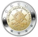 Foto de 2014 MALTA 2 EUROS FUERZA POLICIAL