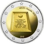 Foto de 2015 MALTA 2 EUROS REPUBLICA 1974