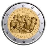 """Foto de 2013 SAN MARINO 2 EUROS """"II PINTURICCHIO"""""""