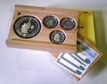Foto de 1997 ESTUCHE 4p PLATA BORBONES