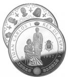 Foto de 1997 10000 PTS BORBONES  JUAN CARLOS I
