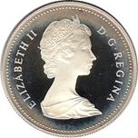 Foto de 1982 CANADA 1$ P PROOF REGINA