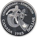 Foto de 1983 CANADA 1$  PROOF EDMONTON