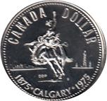 Foto de 1975 CANADA 1$ P FDC CALGARY