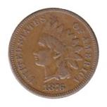 Foto de 1876 EEUU 1 CENT INDIO