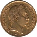 Foto de 1868 FRANCIA 20 FRANCOS NAPOLEON III