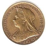Foto de 1899 GRAN BRETAÑA 1 LIBRA VICTORIA
